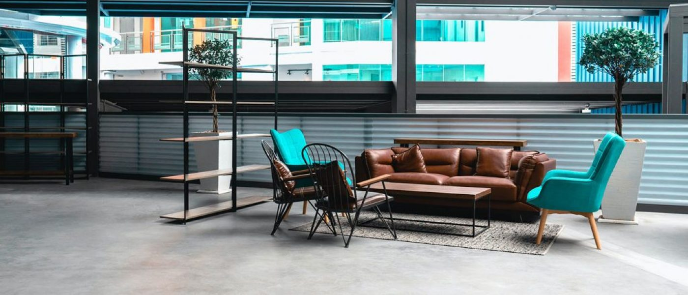 Interiors for industrial room style